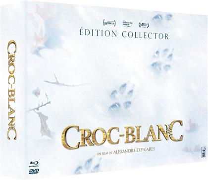 Croc-Blanc (2018) (Collector's Edition, Limited Edition, Blu-ray + DVD + CD)