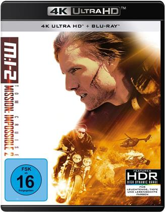 Mission: Impossible 2 (2000) (4K Ultra HD + Blu-ray)