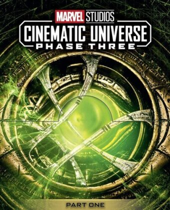 Marvel Studios Cinematic Universe - Phase 3 - Part 1 (5 Blu-ray)