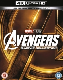Avengers 1-3 - 3-Movie Collection (3 4K Ultra HDs + 3 Blu-rays)
