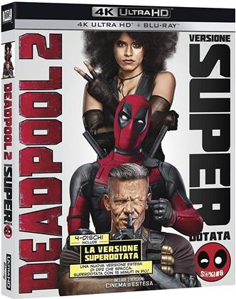 Deadpool 2 (2018) (2 4K Ultra HDs + 2 Blu-ray)