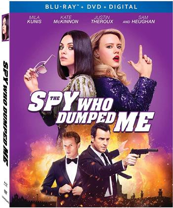 The Spy Who Dumped Me (2018) (Blu-ray + DVD)