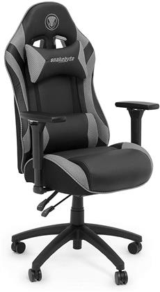 snakebyte Gaming Seat - black/grey