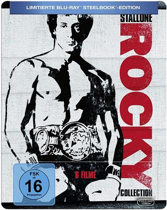 Rocky Collection (Limited Edition, Steelbook, 6 Blu-rays)