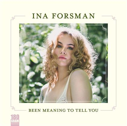Ina Forsman - Been Meaning To Tell You (LP)