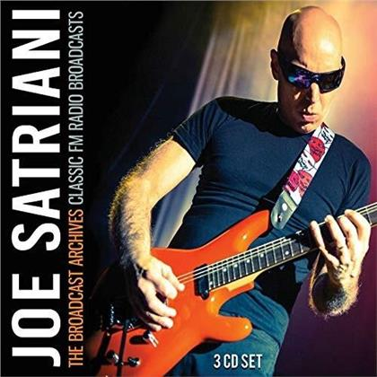 Joe Satriani - The broadcast archives classic fm (3 CDs)