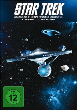 Star Trek 1-10 (Remastered, 10 DVDs)