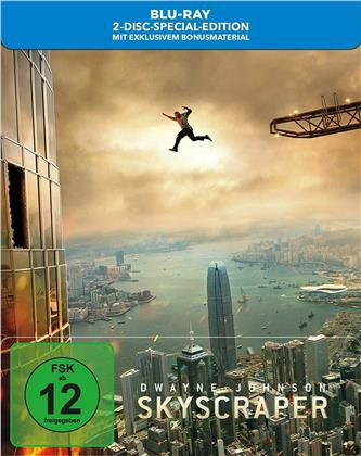 Skyscraper (2018) (Limited Edition, Steelbook, Blu-ray + DVD)
