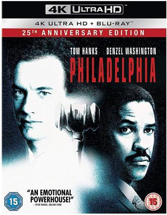 Philadelphia (1993) (4K Ultra HD + Blu-ray)
