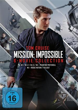 Mission Impossible 1-6 (6 DVDs)