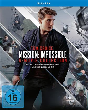 Mission Impossible 1-6 (6 Blu-rays)