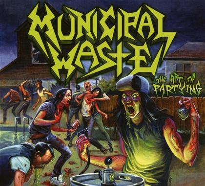 Municipal Waste - Art Of Partying (2018 Reissue, Digipack)