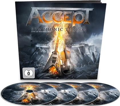 Accept - Symphonic Terror - Live At Wacken 2017 (Earbook, 2 CDs + Blu-ray + DVD)