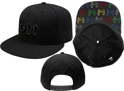 AC/DC - Canon Pop-Art Black Snapback Cap