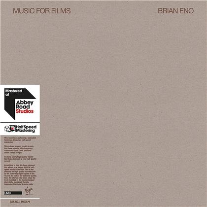 Brian Eno - Music For Films (2018 Reissue, Deluxe Edition, 2 LPs)