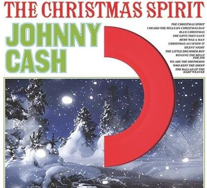 Johnny Cash - The Christmas Spirit (2018 Reissue, DOL 2018, Limited Edition, - Colour Vinyl, LP)