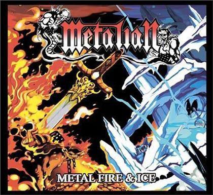 Metalian - Metal Fire & Ice (2018 Reissue, Colored, LP)