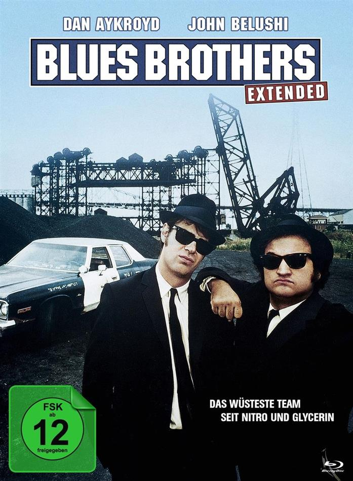 Blues Brothers (1980) (Deluxe Edition, Extended Edition, Edizione Limitata, Mediabook, 2 Blu-ray + DVD)