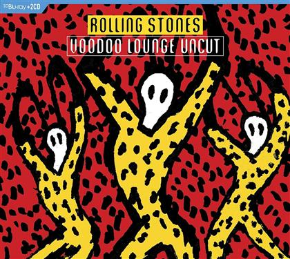 The Rolling Stones - Voodoo Lounge Uncut (2 CDs + Blu-ray)