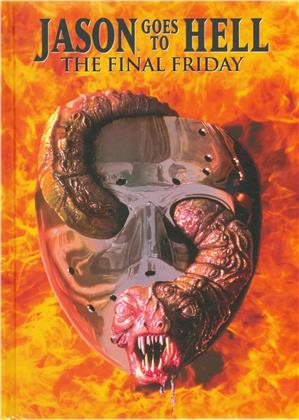 Jason goes to Hell - The Final Friday (1993) (Limited Edition, Mediabook, Uncut, Blu-ray + DVD)
