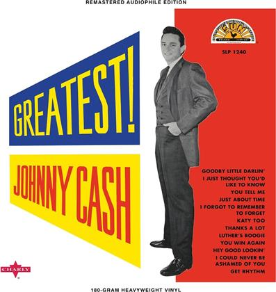 Johnny Cash - Greatest (2018 Reissue, LP)