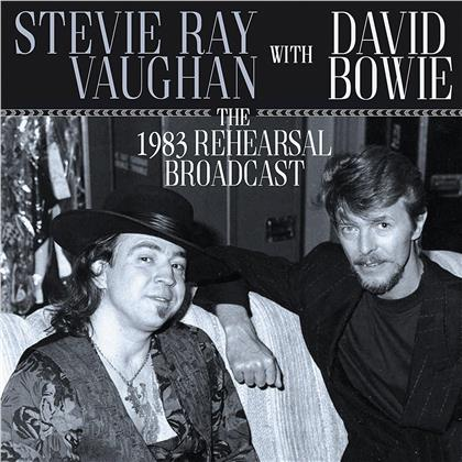 Stevie Ray Vaughan & David Bowie - The 1983 Rehearsal Broadcast (2 LPs)