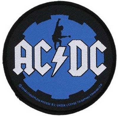 AC/DC Patch - Angus Cog
