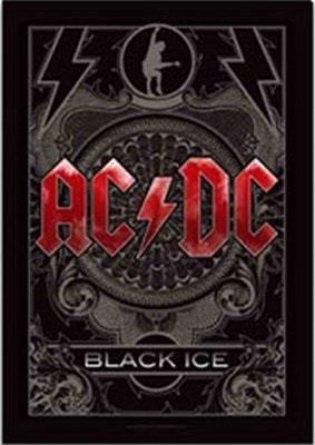 AC/DC Textile Flag - Black Ice