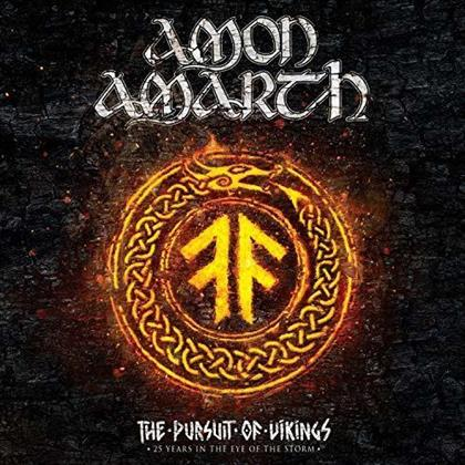 Amon Amarth - The Pursuit of Vikings - 25 Years in the Eye of the Storm (Blu-ray + CD)