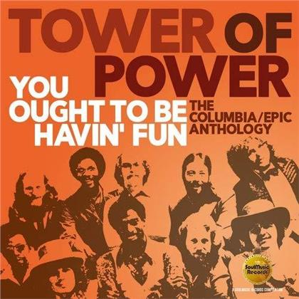Tower Of Power - You Ought To Be Havin' Fun - The Columbia / Epic Anthology (2 CDs)