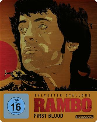 Rambo 1 - First Blood (1982) (Limited Edition, Steelbook)
