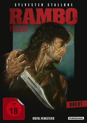 Rambo - Trilogy (Remastered, Uncut, 3 DVDs)
