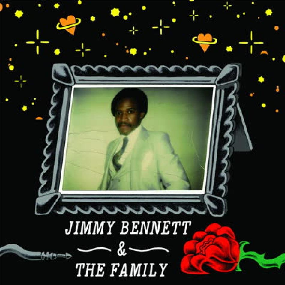 Jimmy Bennett & The Family - Hold That Groove / Falling In And Out Of Love (LP)