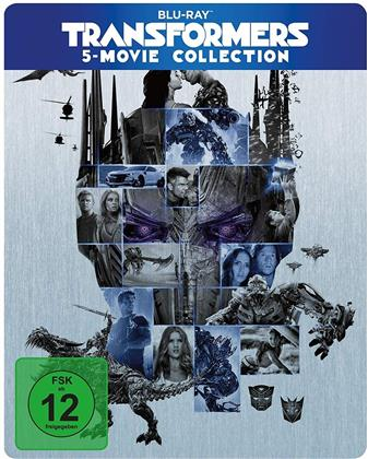 Transformers 1-5 (Limited Edition, Steelbook, 5 Blu-rays)