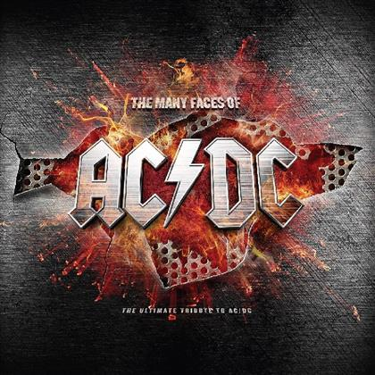 Many Faces Of AC/DC - Tribute To AC/DC (Red Vinyl, 2 LPs)