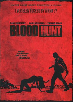 Blood Hunt (2017) (Cover C, Collector's Edition, Limited Edition, Mediabook, Uncut, Blu-ray + DVD)