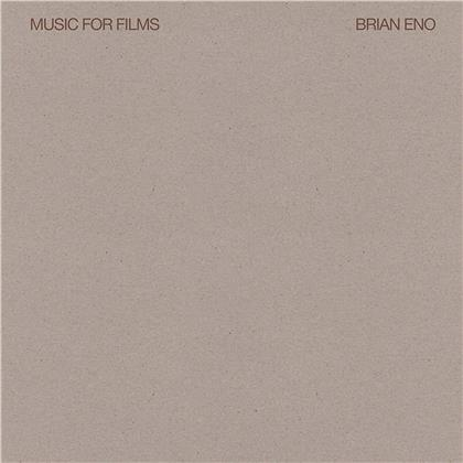 Brian Eno - Music For Films (2018 Reissue, LP)