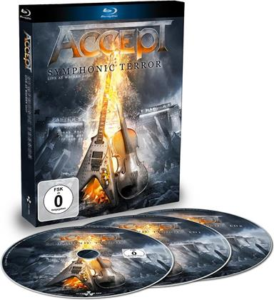 Accept - Symphonic Terror - Live At Wacken 2017 (Digipack, 2 CDs + Blu-ray)