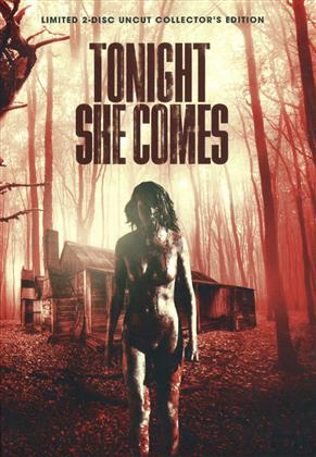 Tonight She Comes (2016) (Cover D, Collector's Edition, Limited Edition, Mediabook, Uncut, Blu-ray + DVD)