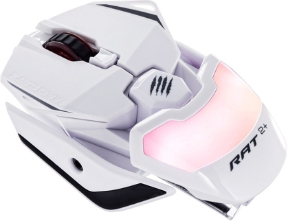 MadCatz R.A.T. 2+ Optical Gaming Mouse - White