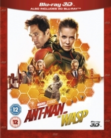 Ant-Man And The Wasp (2018) (Blu-ray 3D + Blu-ray)