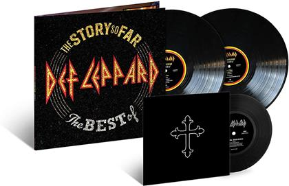 "Def Leppard - The Story So Far (2 LPs + 7"" Single)"