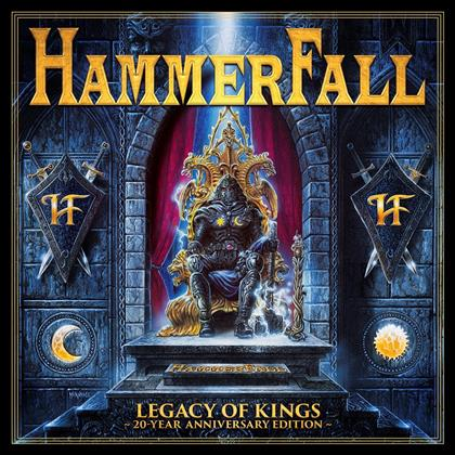 Hammerfall - Legarcy Of Kings (2018 Reissue, 20 Year Anniversary Edition, 2 CDs + DVD)