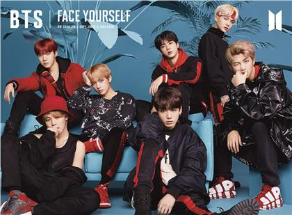 BTS (Bangtan Boys) (K-Pop) - Face Yourself (Limited Edition, CD + Blu-ray)