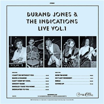 Durand Jones - Live Vol. 1 (Blue Vinyl, LP)