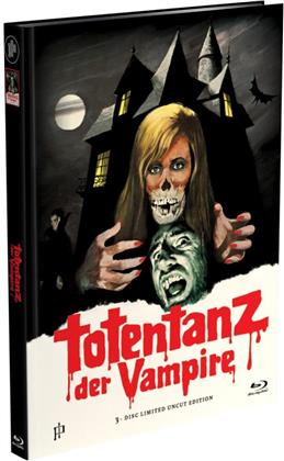 Totentanz der Vampire (1971) (Cover B, Limited Edition, Mediabook, Uncut, Blu-ray + DVD)