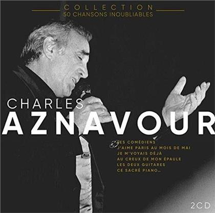 Charles Aznavour - 50 Chansons Inoubliables (2 CDs)