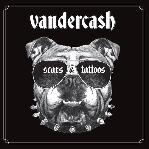 Vandercash - Scars And Tattoos (CD + Buch)
