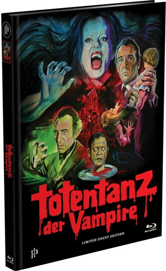 Totentanz der Vampire (1971) (Cover A, Limited Edition, Mediabook, Uncut, Blu-ray + DVD)