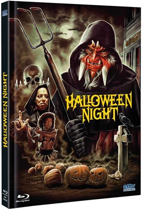 Halloween Night (1988) (Cover B, Limited Edition, Mediabook, Uncut, Blu-ray + DVD)